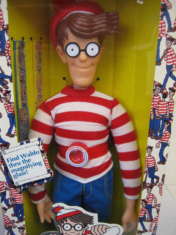 18 Waldo Doll by Mattel 1991 Wheres Waldo