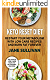 Keto Reset Diet: Restart Your Metabolism With Low Carb Recipes And Burn Fat Forever