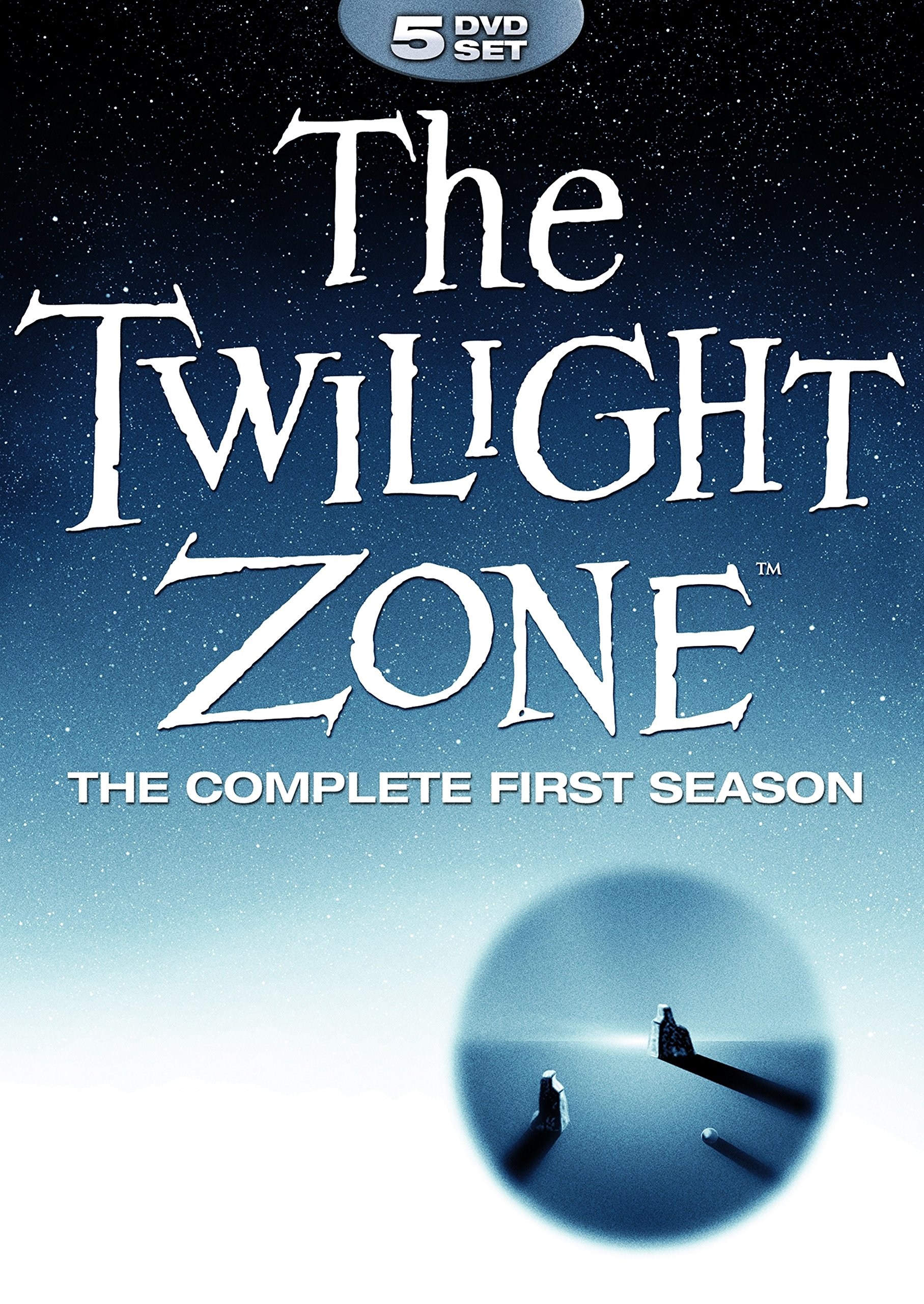 DVD : The Twilight Zone: Complete First Season (Full Frame, Boxed Set, Amaray Case, 5PC)
