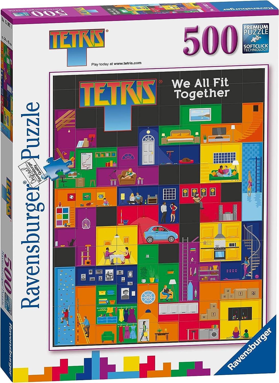 Ravensburger 15002 Tetris-We All Fit Together Rompecabezas de 500 Piezas,: Amazon.es: Juguetes y juegos
