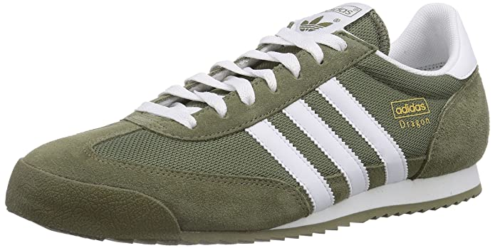 adidas Dragon, Baskets pour Homme Vert : : Chaussures