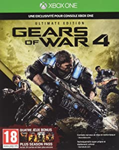 Microsoft Gears of War 4 - Ultimate Edition, Xbox One Básico Xbox One Inglés vídeo - Juego (Xbox One, Xbox One, Shooter, Modo multijugador, M (Maduro))