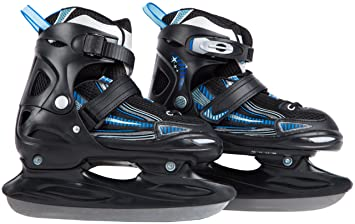 Powerslide Skatebag II für Inline-Skates und Schlittschuhe schwarz-blau NEU Inlineskating