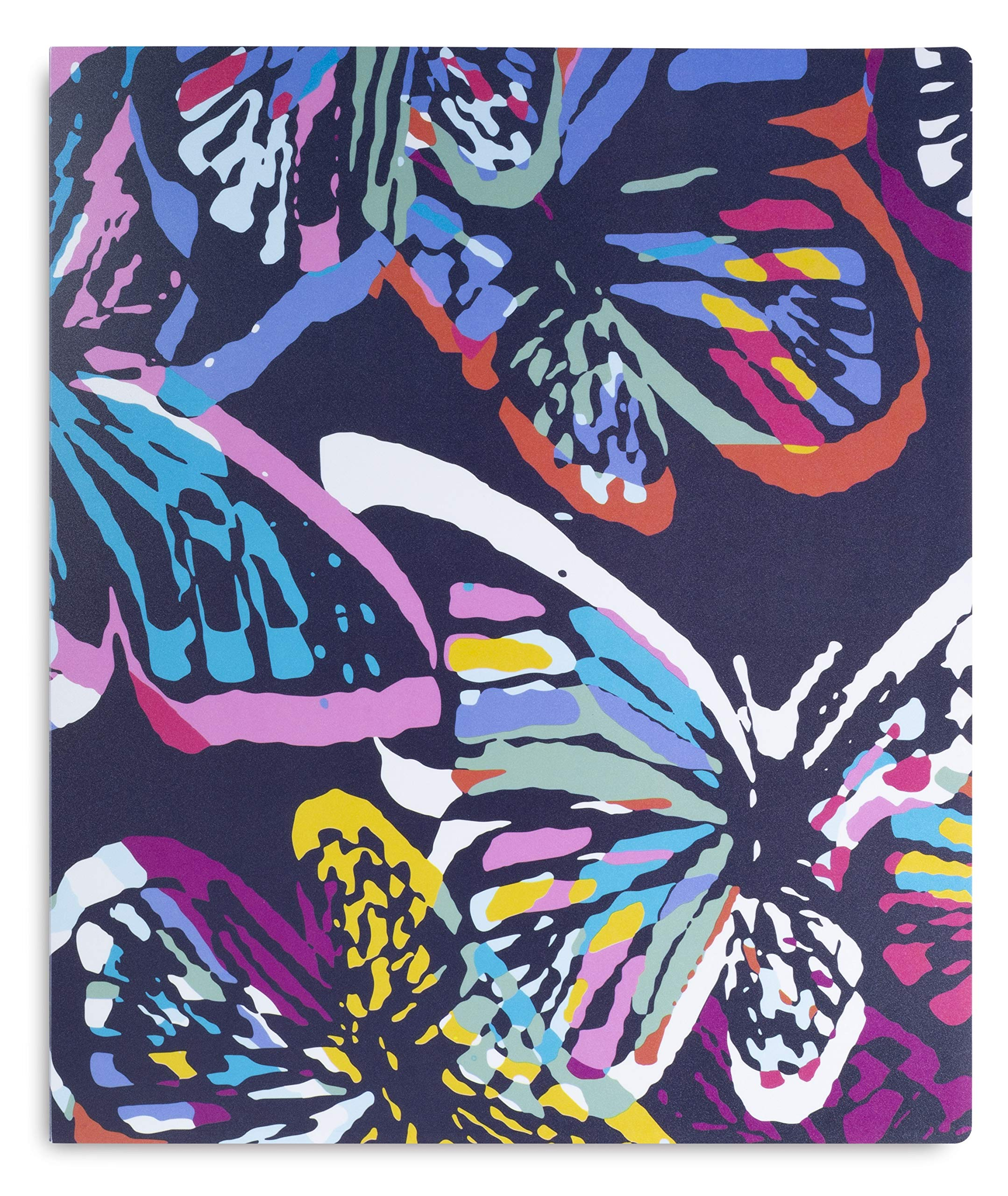 Vera Bradley 3 Ring Binder (Butterfly Flutter)