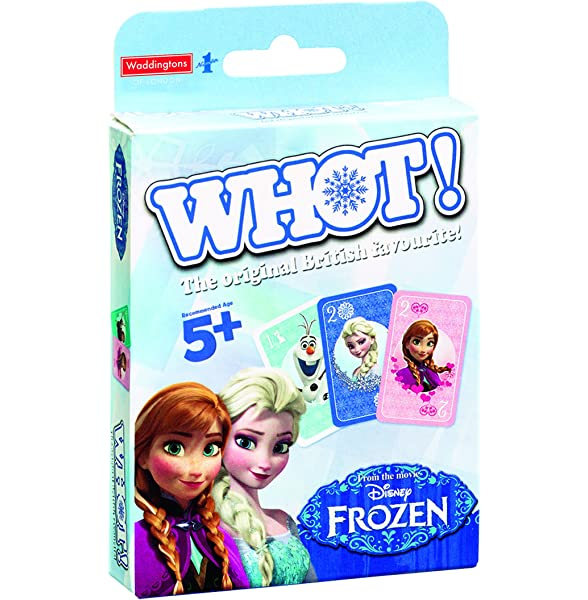 Top Cards Whot Disney Frozen Elsa Anna Travel Card Game Toy