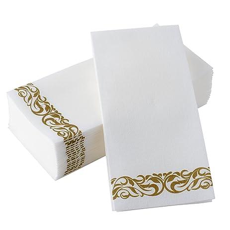BloominGoods Disposable Hand Towels Decorative Bathroom Napkins