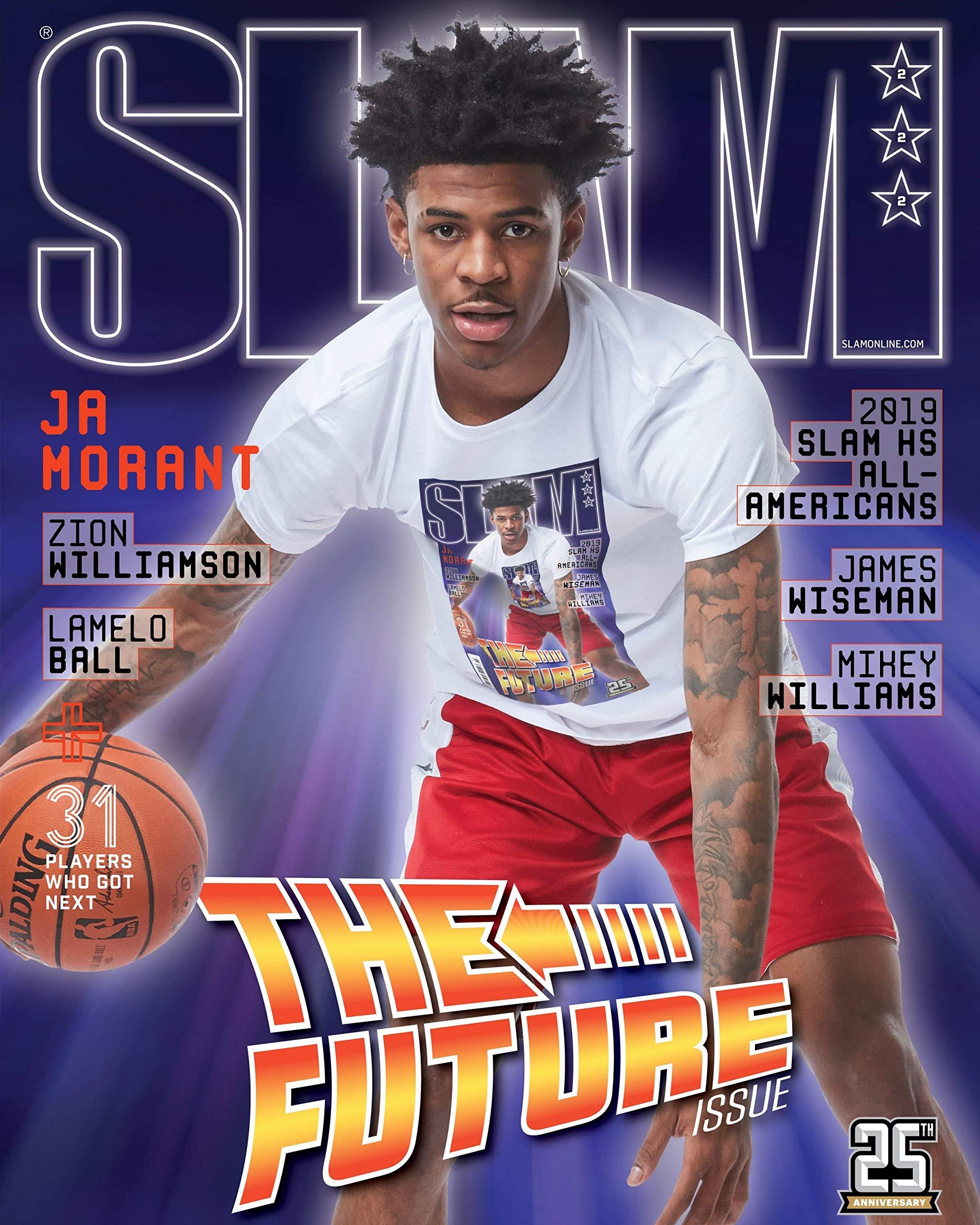Amazoncom Slam Magazine Ja Morant Julyaug 2019 The Future