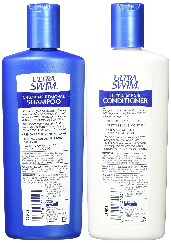 Amazon Ultraswim Chlorine Removal Shampoo 7 Ounce Bottles