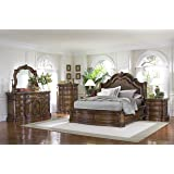 Pulaski San Mateo 6 Piece Bedroom Set, King