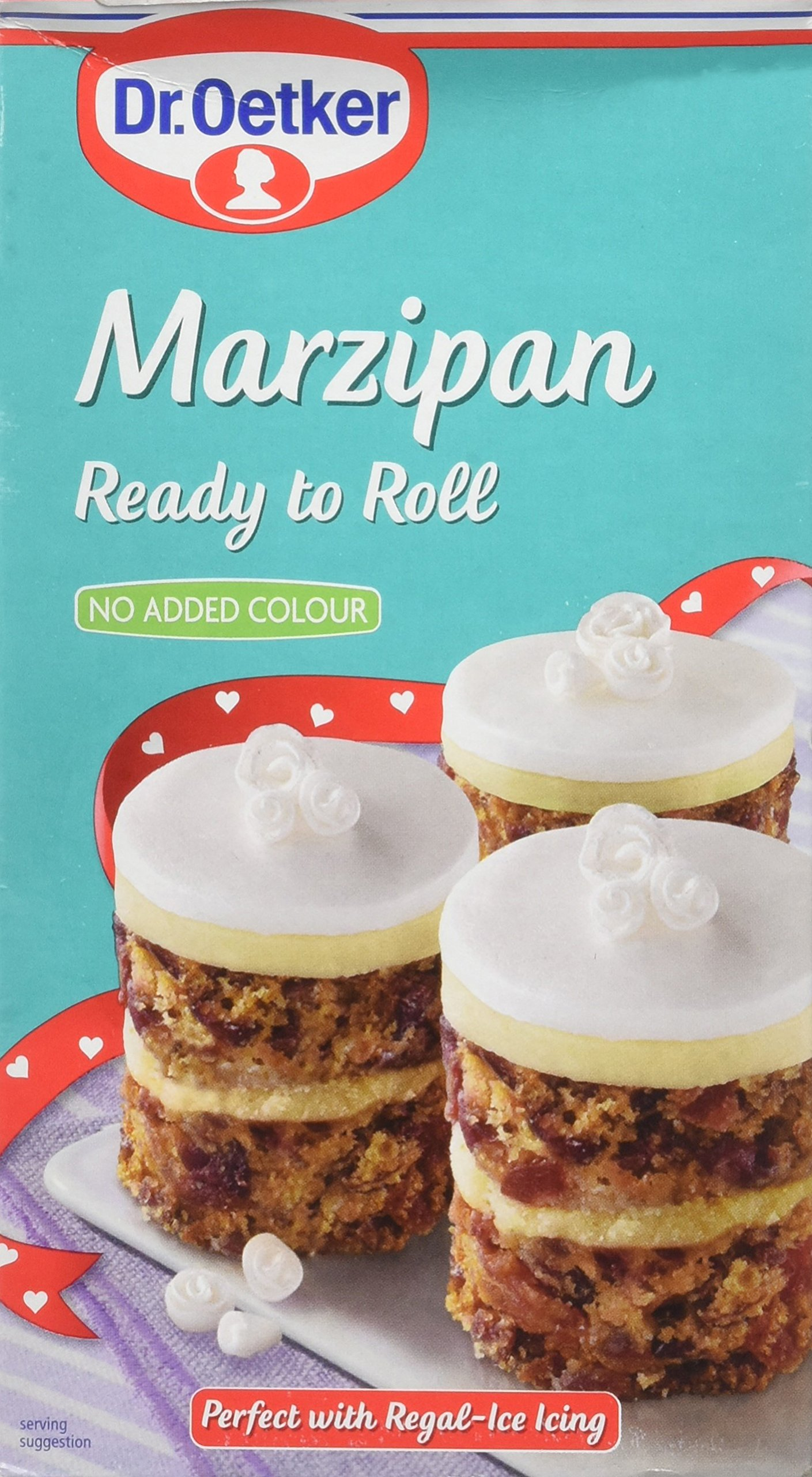 Dr. Oetker Ready to Roll Natural Marzipan (454g)