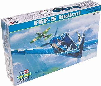 F6F-5 Hellcat US Air Force Hobbyboss Flugzeug  Bausatz 1:72-80260  #E
