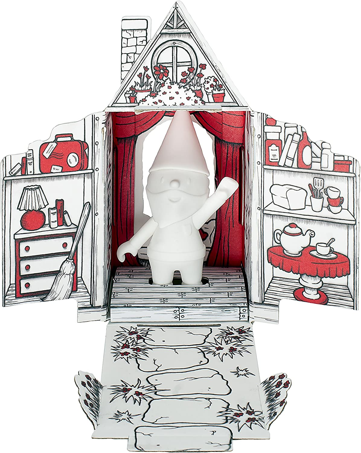 """My Gnome On The Roam"""" - Traveling Adventure Gnome with Home - an Adventure for The Whole Family."""