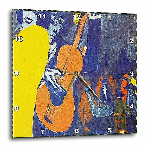 3dRose Salvador Dali - Escena de Pintura en un Reloj de Pared, 38,1 x 38,1 cm (DPP_50930_3): Amazon.es: Hogar
