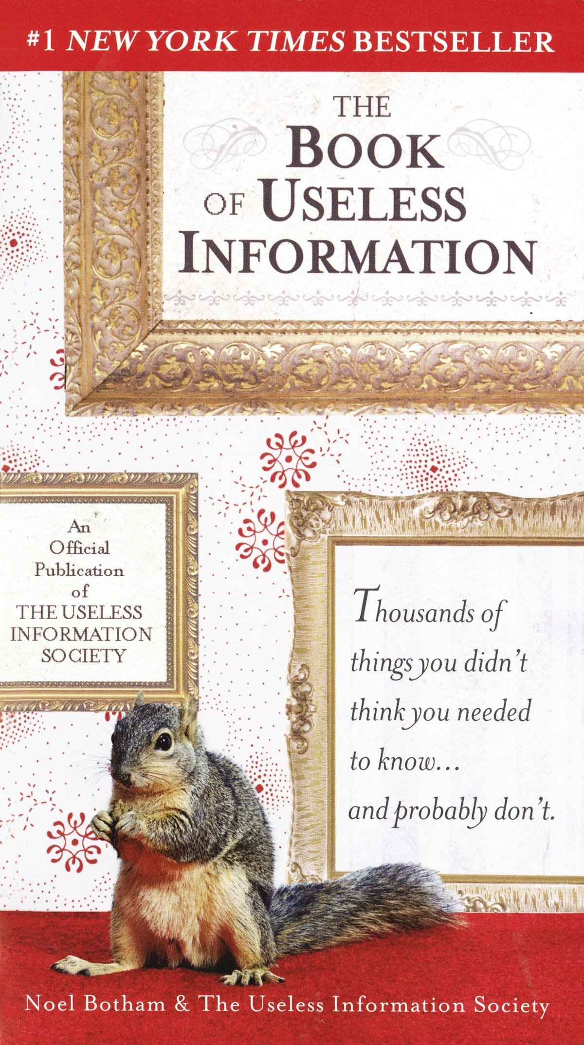 Image result for the book of useless information noel