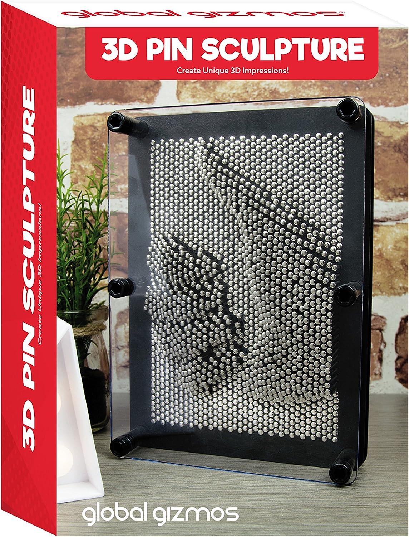 Global Gizmos Benross Jeu de Clous m/étalliques 17,7 x 12,7 cm