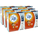 Puffs, Everyday Non-Lotion Facial Tissues, 24 Cubes, 64 Tissues per Box (Packaging may vary)