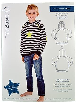 Schnittmuster Shirt Sweatshirt für Kinder//Gr. 50-146cm//5x0220 ...