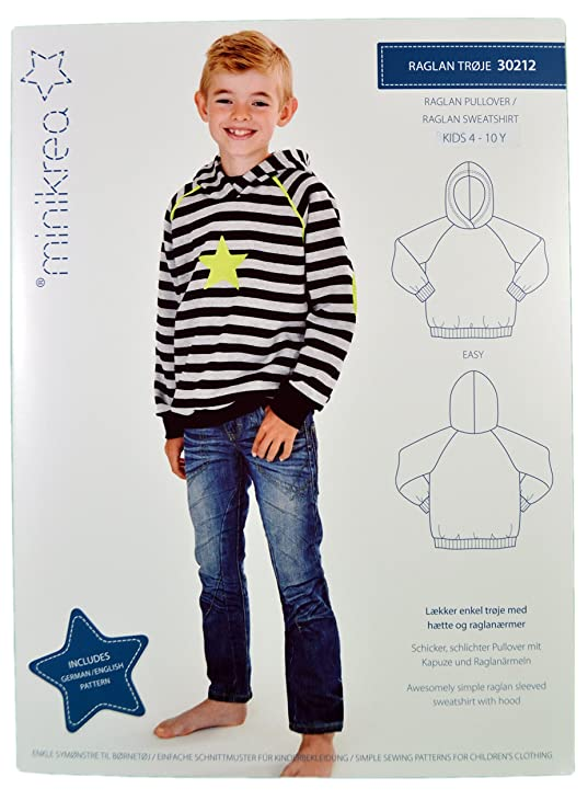 Schnittmuster Pullover Pulli für Kinder / Gr. 104-146cm / 3x0212 ...