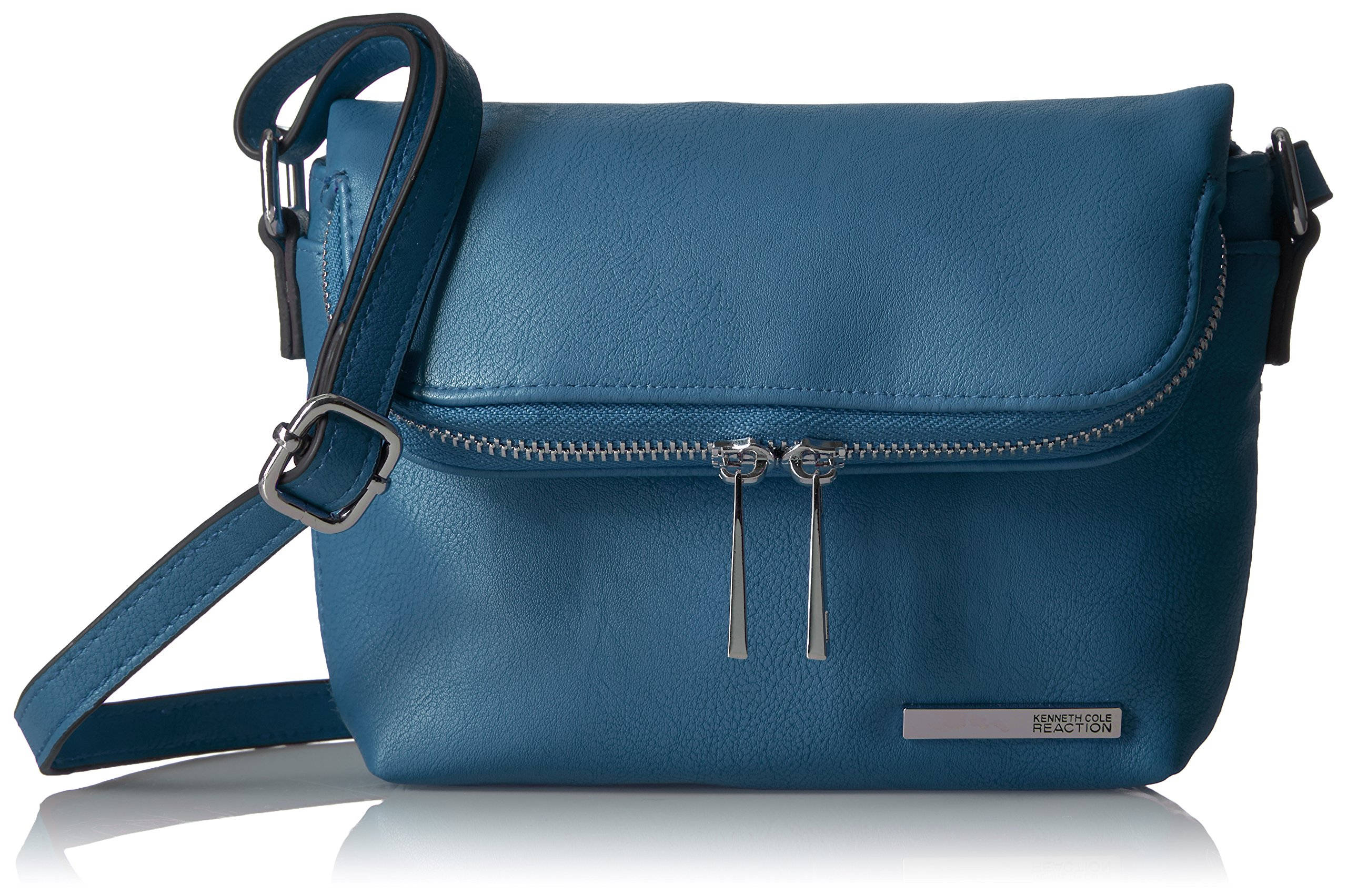Kenneth Cole Reaction Wooster Street Foldover Minibag with Rfid Blocking, Seaglass