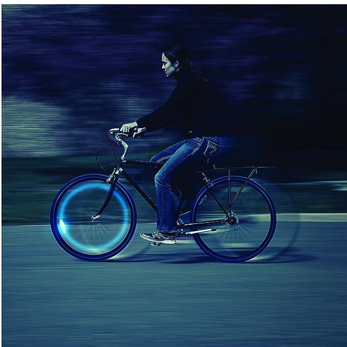 Amazon.com: Luz LED para bicicleta Nite Ize SpokeLit para ...