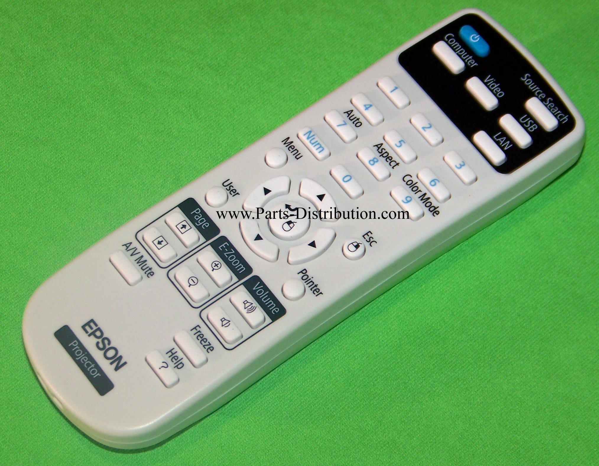 Epson Remote Control: PowerLite S17, PowerLite W17, PowerLite X17, PowerLite Home Cinema 725HD & 730HD by Epson