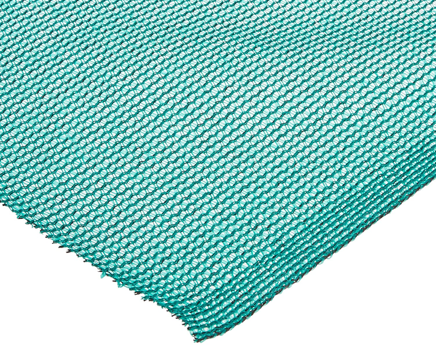 Easy Gardener Sun Screen Fabric (Reduces Temperature Up to 15 Degrees, Provides 75% More Shade) Teal Green Shade Fabric, 6 Feet x 20 Feet 74020P