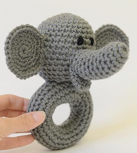 Samyelinin Örgüleri: Elephant Rattle / Teerher (Free English Pattern) | 500x449