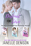 Destined For Love: Set of 3 Contemporary Romance Novels