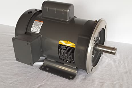 Baldor 3hp Single Phase Motor Wiring Diagram : Baldor l3606t 3hp 3450rpm 1ph 60hz 182t 3634l tefc f1 c face