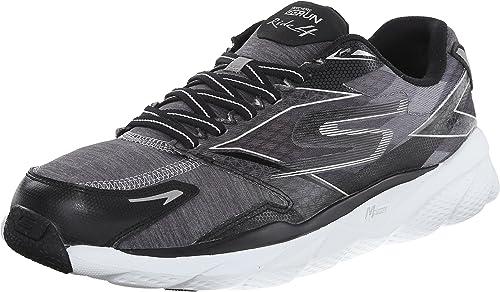 Zapatillas de running Go Run Ride 4 para hombre de alto rendimiento, negro / blanco, 8 M US: Amazon.es: Zapatos y complementos