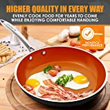 Nonstick Ceramic Copper Frying Pan: Non Stick 12