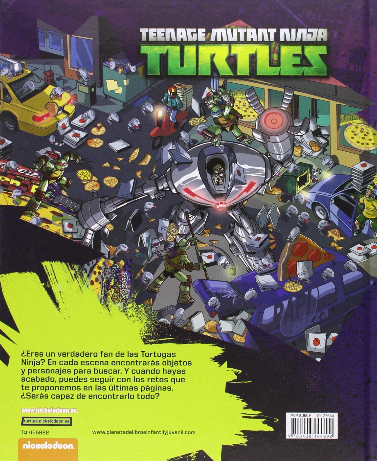 Las Tortugas Ninja. ¿Dónde está?: VV.AA.: 9788408144892 ...