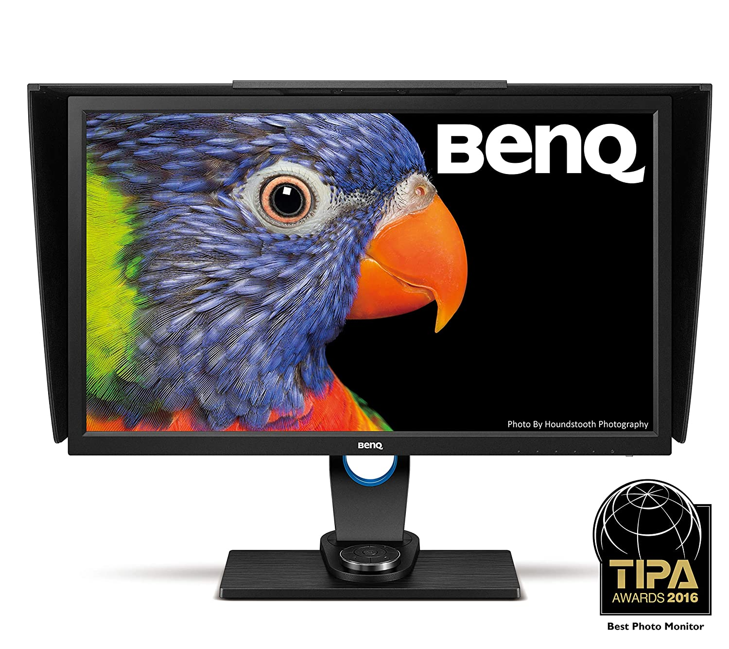 BenQ SW2700PT 27 Inch QHD 1440P IPS Photography Monitor | Aqcolor technology for Accurate Reproduction | Hotkey Puck Efficiency Boost