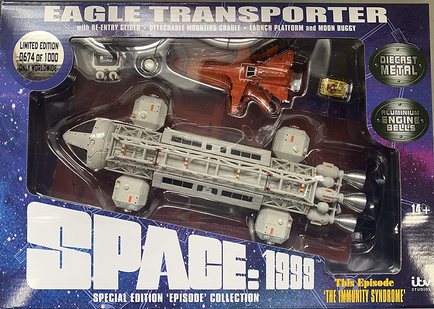 Space 1999 - DIE CAST Eagle Set 2: The Immunity Syndrome Sixteen 12