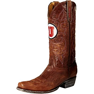 NCAA Utah Utes Men's Board Room Style Boots: Sports & Outdoors