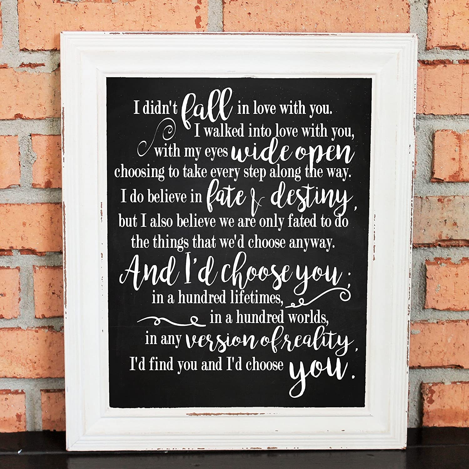 Amazoncom Love Quotes I Didnt Fall In Love With You Id Find