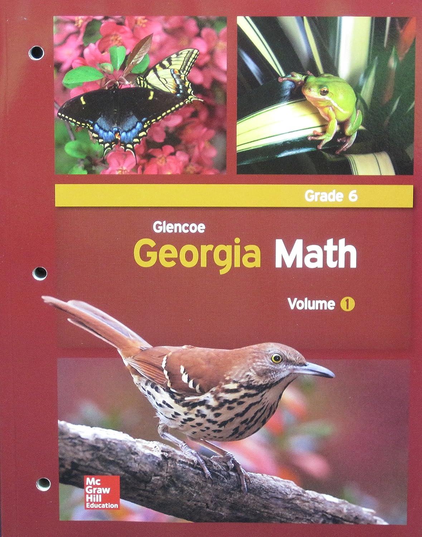 Amazon.com: Glencoe Georgia Math, Grade 6, Volume 1: Glencoe ...