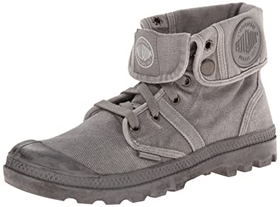 Palladium Mens Pallabrouse Baggy Chukka Boot TitaniumHigh Rise 7 M US