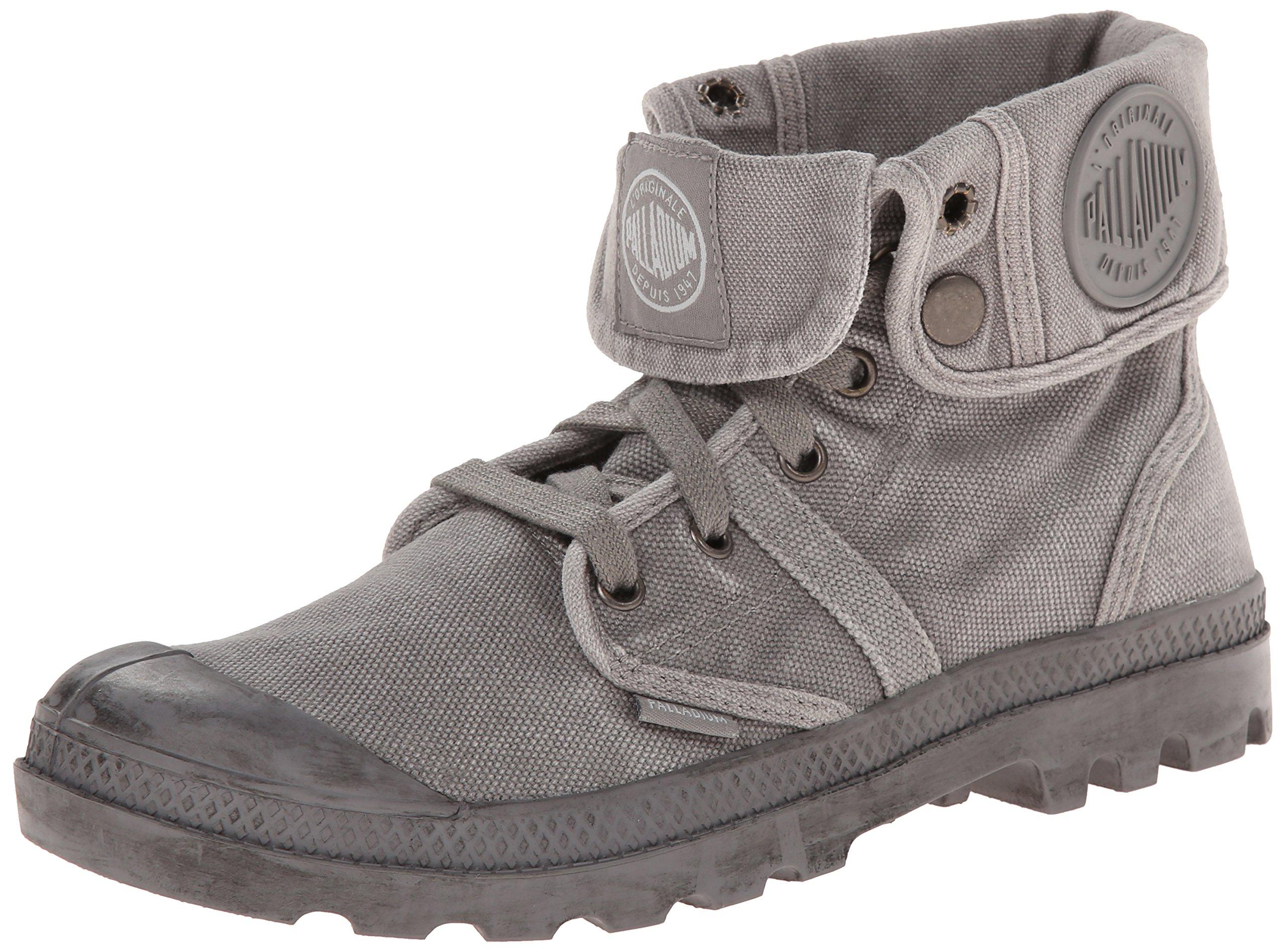 Palladium Women's Pallabrouse Baggy Chukka Boot - Titanium, 7.5 B(M) US