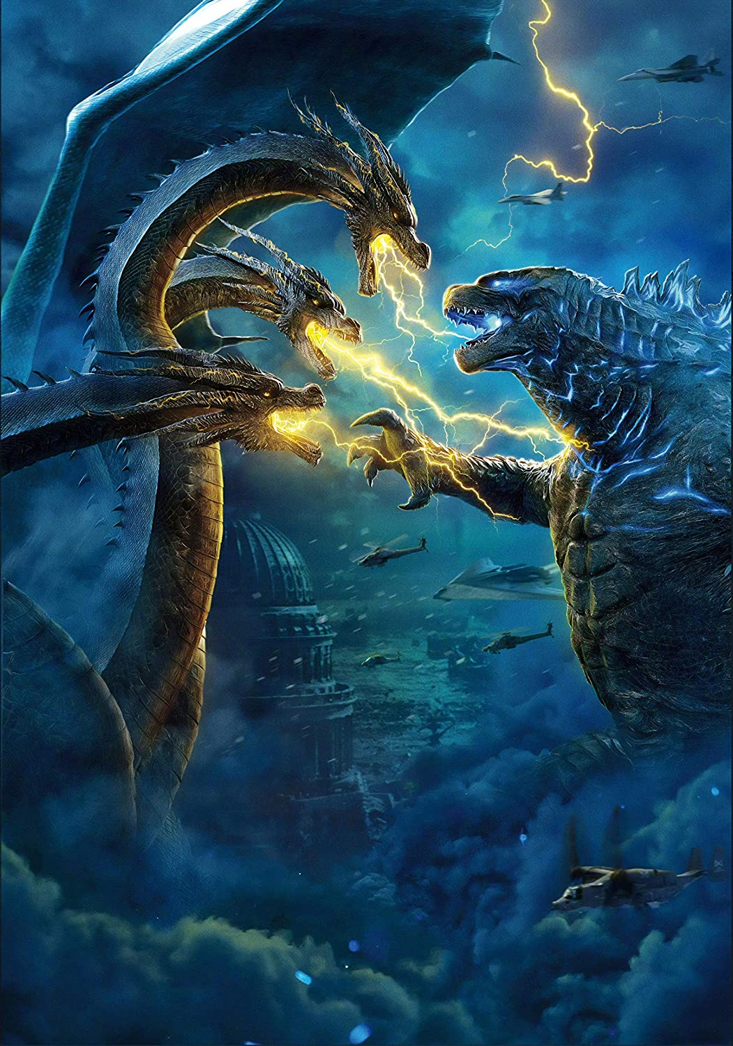 newhorizon Godzilla King of The Monsters Movie Poster 17'' x 24'' NOT A DVD