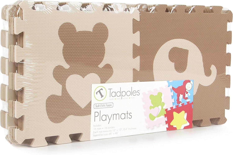 Multi Tadpoles Playmat Set 16-Piece Dino