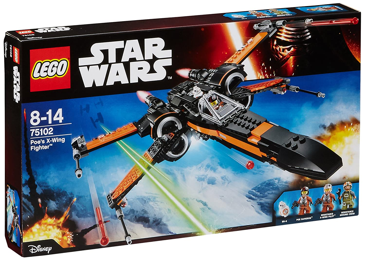 LEGO Star Wars Poe's X Wing Fighter multicolor