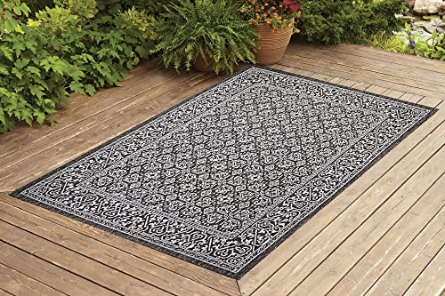 Benissimo Indoor Outdoor Rug, Rug Sensation Collection, Natural Sisal Woven and Jute Backing Area Carpet for Living Room, Bedroom, Kitchen, Entryway, Hallway, Patio, Farmhouse Decor, 6×9, Light Brown