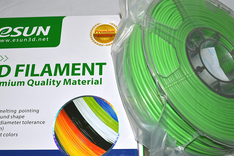 Peak Green ABS300V1 eSUN 3mm Peak Green ABS 3D Printer filament 1kg Spool 2.2lbs