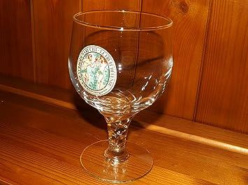 De VERBODEN vrucht le Fruit Defendu BR de Kluis Hoegaarden Verre /à bi/ère en verre libellule en verre 450/ml souvenirs