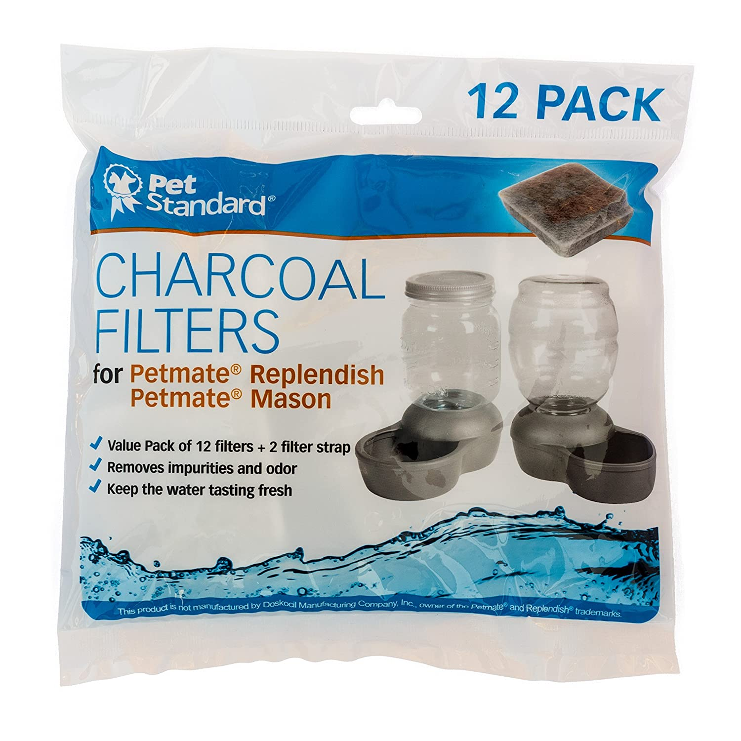 Pet Supplies Cat Supplies Pack 12~pet Standard Premium Charcoal Filters For Petsafe Mason Jars~ Various Styles