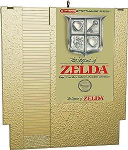 Hallmark Keepsake Christmas Ornament 2020, Nintendo The Legend of Zelda Game Cartridge, Metal