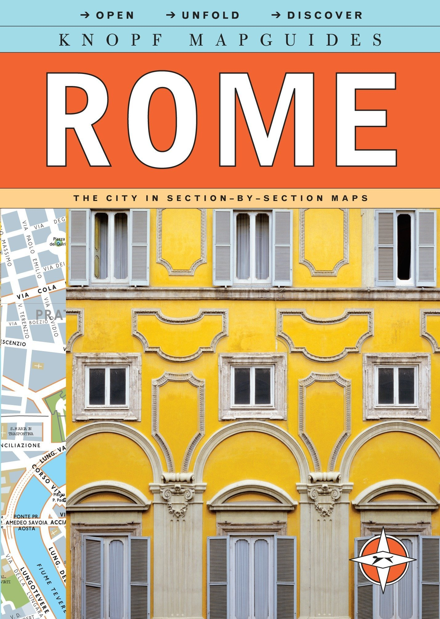 Knopf Mapguides: Rome: The City in Section-by-Section Maps by Knopf Guides