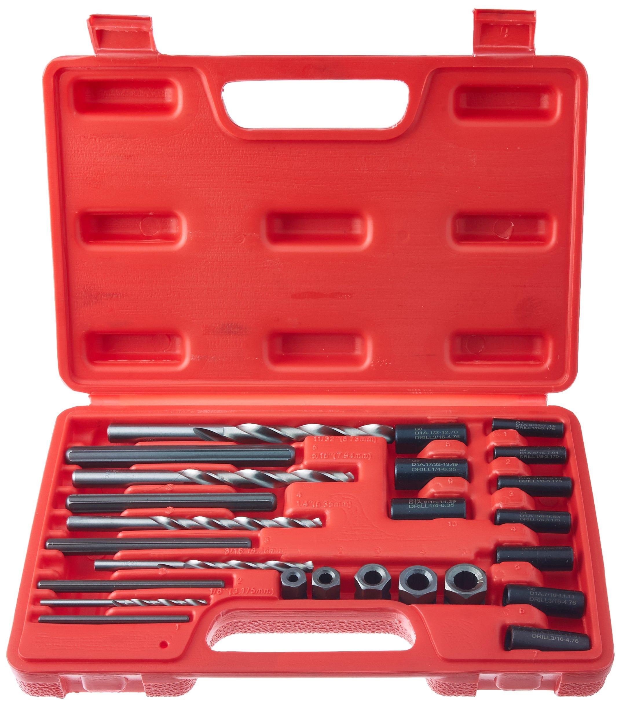 Cal Hawk Tools BZSE25P Screw Extractor Set