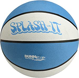 """Dunnrite Products Large 9"""" Diameter Pool/Water Basketball (Blue)  ..."""